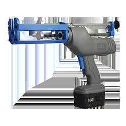 Bi-component gun